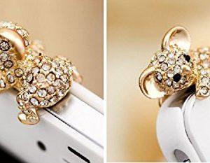 Handyschmuck-Koala-Gold-Strass-fr-alle-Gerte-mit-35-mm-Stecker-Dust-Plug-Strass-bling-bling-35-mm-Stecker-wadle-shop--0