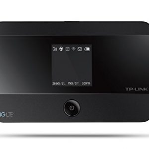 TP-Link-M7350-mobiler-4GLTE-MiFi-Dualband-WLAN-Router-LTE-Cat4-150Mbits-2550mAh-interner-Akku-OLED-Display-SIM-Kartensteckplatz-microSD-Kartenslot-0