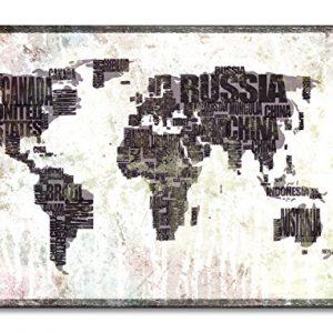 WandbilderXXL-Gedrucktes-Leinwandbild-Weltkarte-Nr17-in-6-verschiedenen-Gren-Fertig-gespannt-auf-Holzkeilrahmen-Gnstige-Leinwanddrucke-fr-Wohnzimmer-Schlafzimmer-0