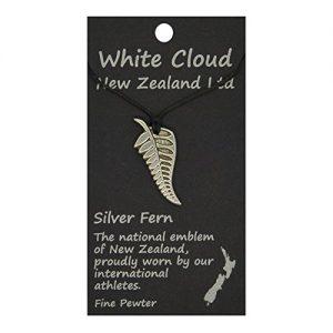 Maori-Anhnger-New-Zealand-Silver-Fern-Neuseeland-Farn-von-Neuseeland-aus-Zinn-Pewter-von-Hand-Gegossen-0