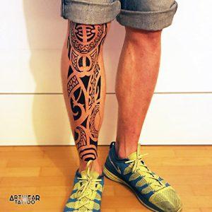 Temporre-Ttowierung-Temporary-Tattoo-Maori-Sleeve-ArtWear-Tattoo-SLEEVE005-XL-0