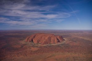 Orbiting Australia
