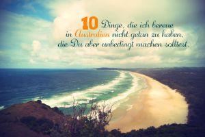 Unglaublich!!! 10 Dinge, die ich bereue in Australien nicht getan zu haben, die du aber unbedingt machen solltest