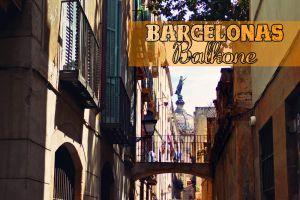 Barcelonas Balkone