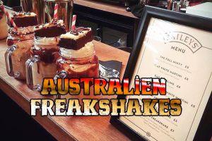 Der ultimative Australien Freakshake Guide – Hier gibt es die Monster Milkshakes