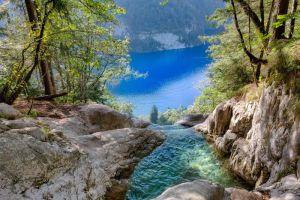 Der Königssee Wasserfall – So kommst du zum natürlichen Infinity Pool am Königsbach Wasserfall