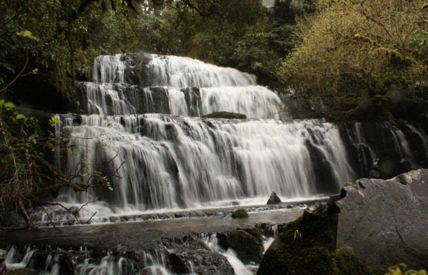 Purakaunui Falls Catlins Neuseeland