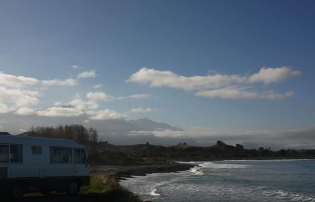 Küste vor Kaikoura in Neuseeland