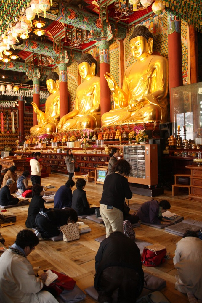 Jogyesa Tempel Seoul