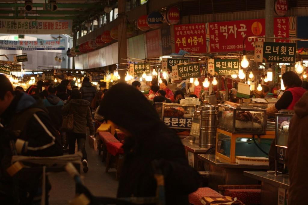Dongdeamun Markt Seoul