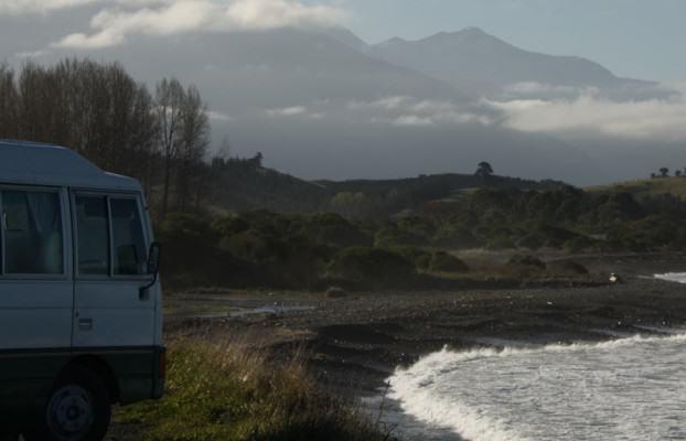Kaikoura Küste Neuseeland