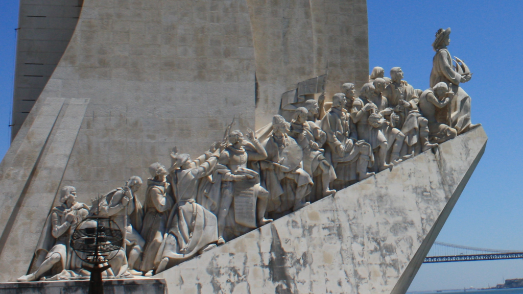 Entdeckerdenkmal-Ausschnitt-Lissabon