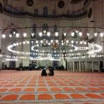 Muezzin-Gebete in Süleymaniye-Moschee