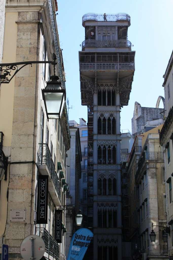 Elevador de Santa Justa Lissabon