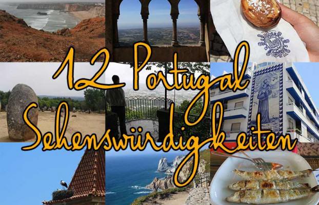 12 Portugal Sehenswuerdigkeiten