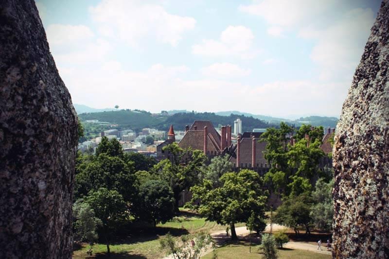 Burg von Guimarães in Portugal