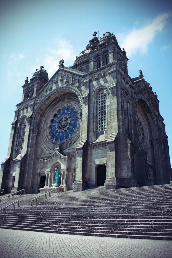 Wallfahrtskirche Monte Santa Luzia in Viano do Castello