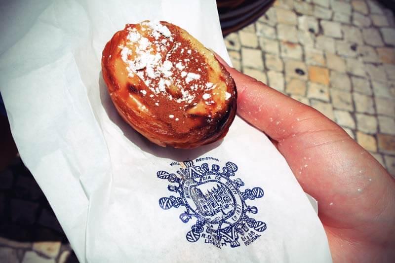 Pasteis de Belem in Lissabon Portugal