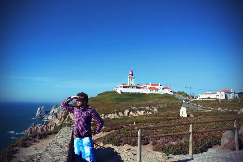 Cabo da Roca westlichster Punkt Europas (Festland)