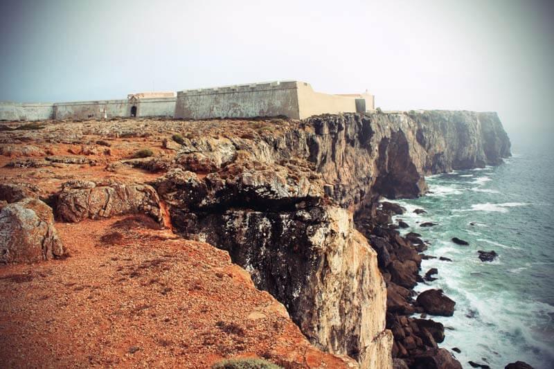 Fortoleza de Sagres Küste