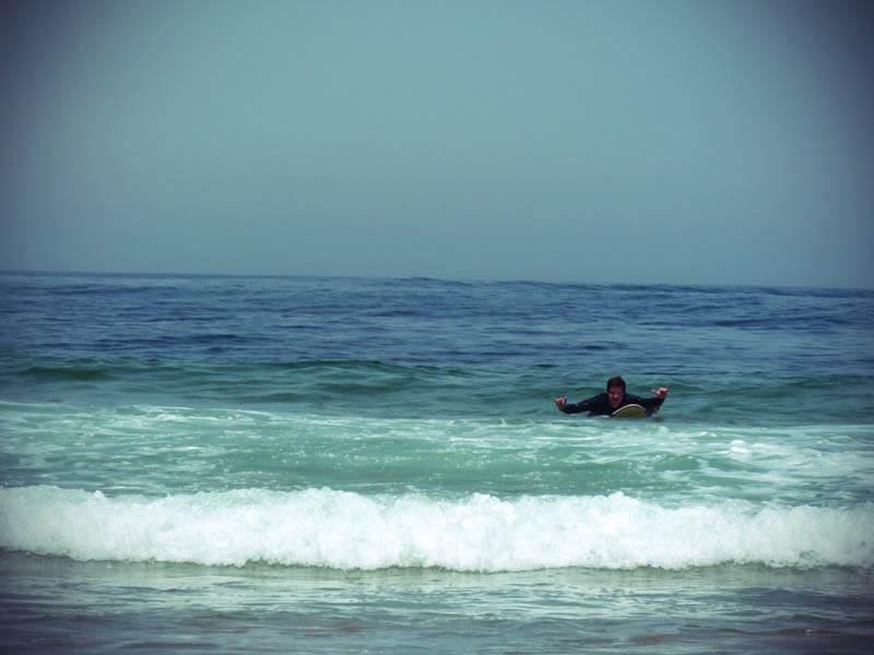 Portugal Atlantik Surfen