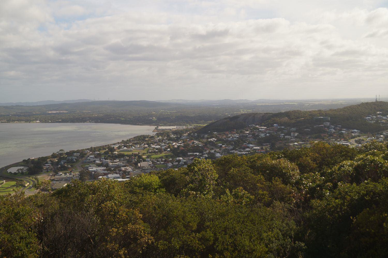 Albany von oben