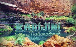 Karijini Nationalpark in Australien