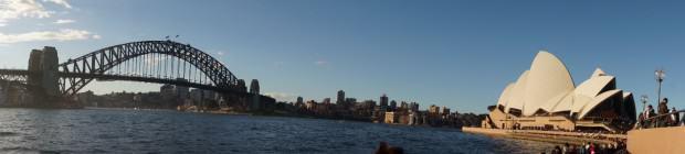 Sydney Harbour Bridge und Sydney Opera House