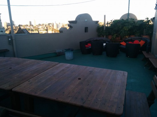 Kingscross Backpackers Rooftop