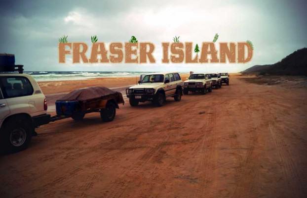 Jeeptour auf Fraser Island Australien