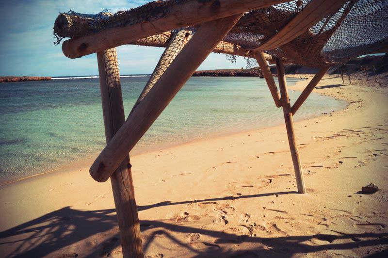 Point Quobba Beach Australien