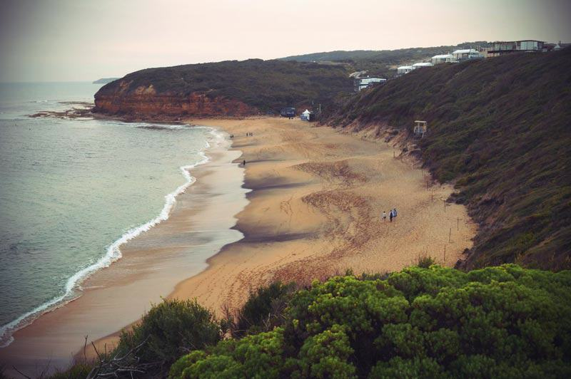 Bells Beach in Australien an der Great Ocean Road