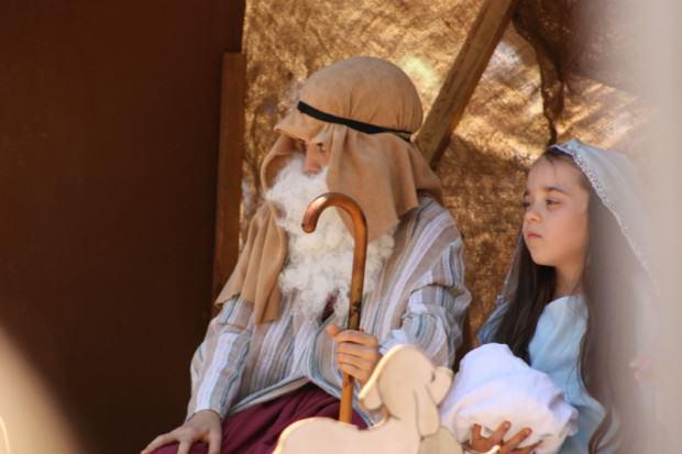 Maria und Josef Weihnachtsparade