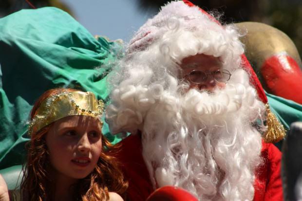 Weihnachtsmann Weihnachtsparade