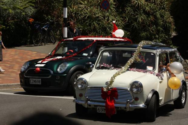 Weihnachtsminis Weihnachtsparade