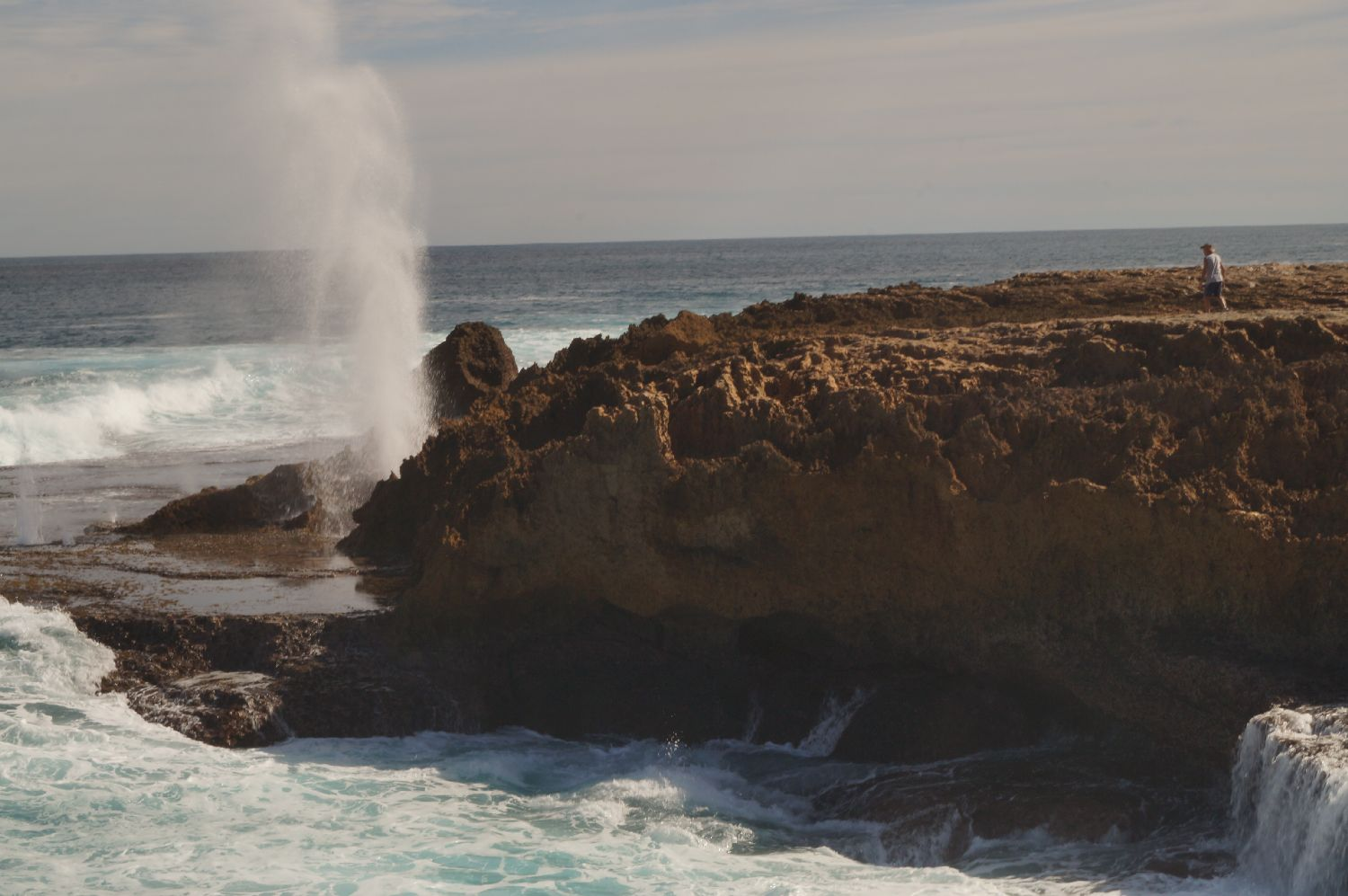 Westküste Australien: blowholes point quobba