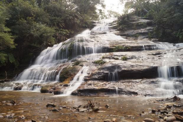 Blue Mountains Wasserfall