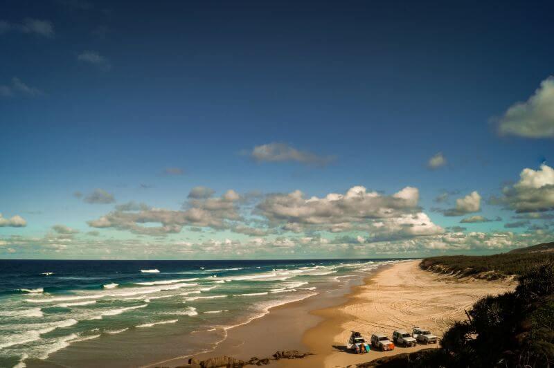 Fraser Island an der Ostküste Australien