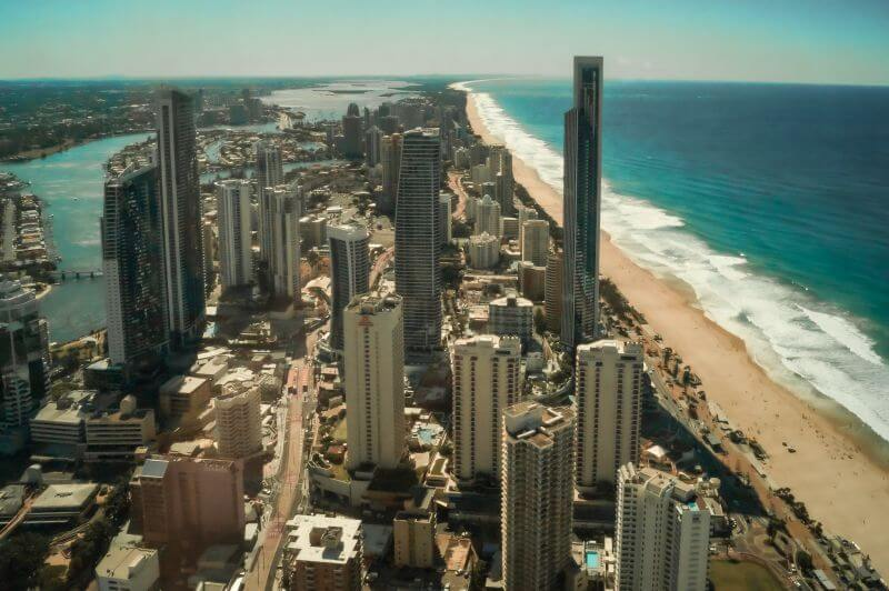 Ostküste Australien Gold Coast Stadt