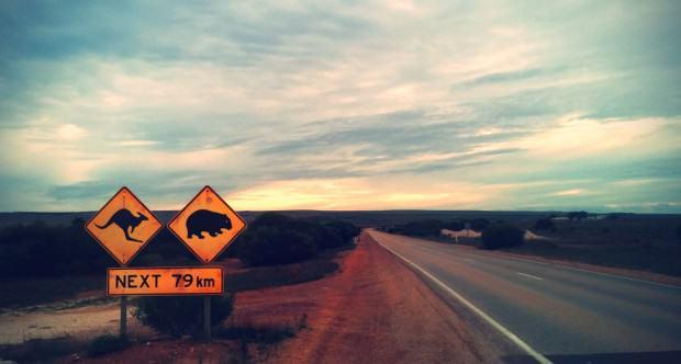 Australien-Road