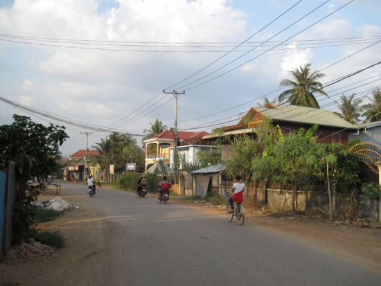 Batambang Landstraße