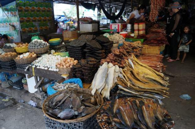 Battambang Markt