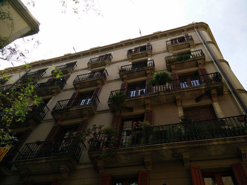 Balkone in El Raval