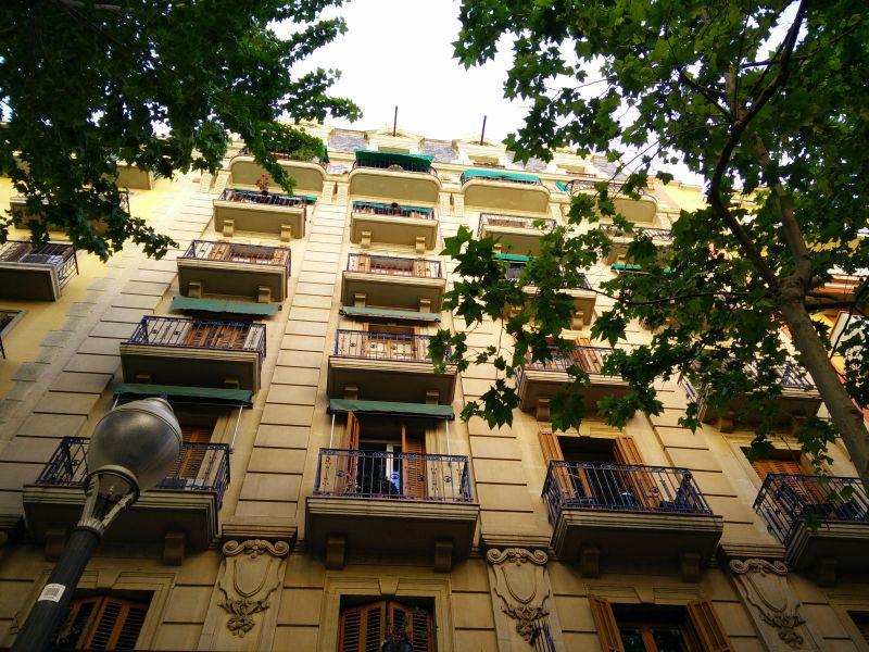 Balkone in Barcelona