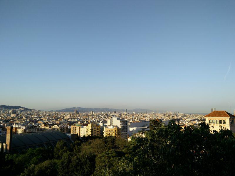 Ausblick vom Montjuïc