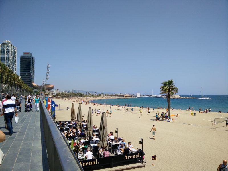 Barcelona Strand Barcelonetta