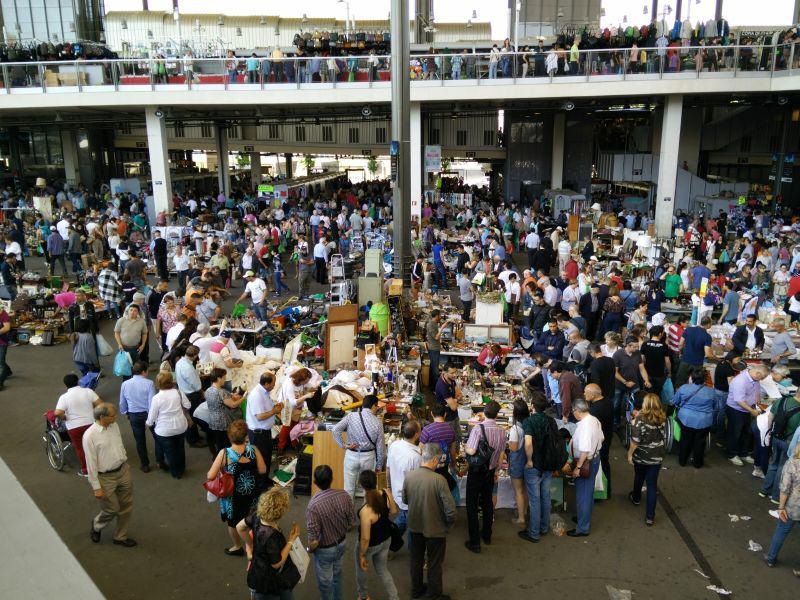 Flohmarkt in Barcelona