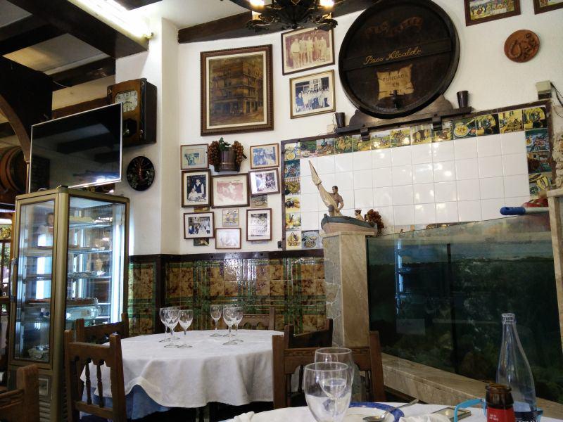 Restaurante Casa Paco innen