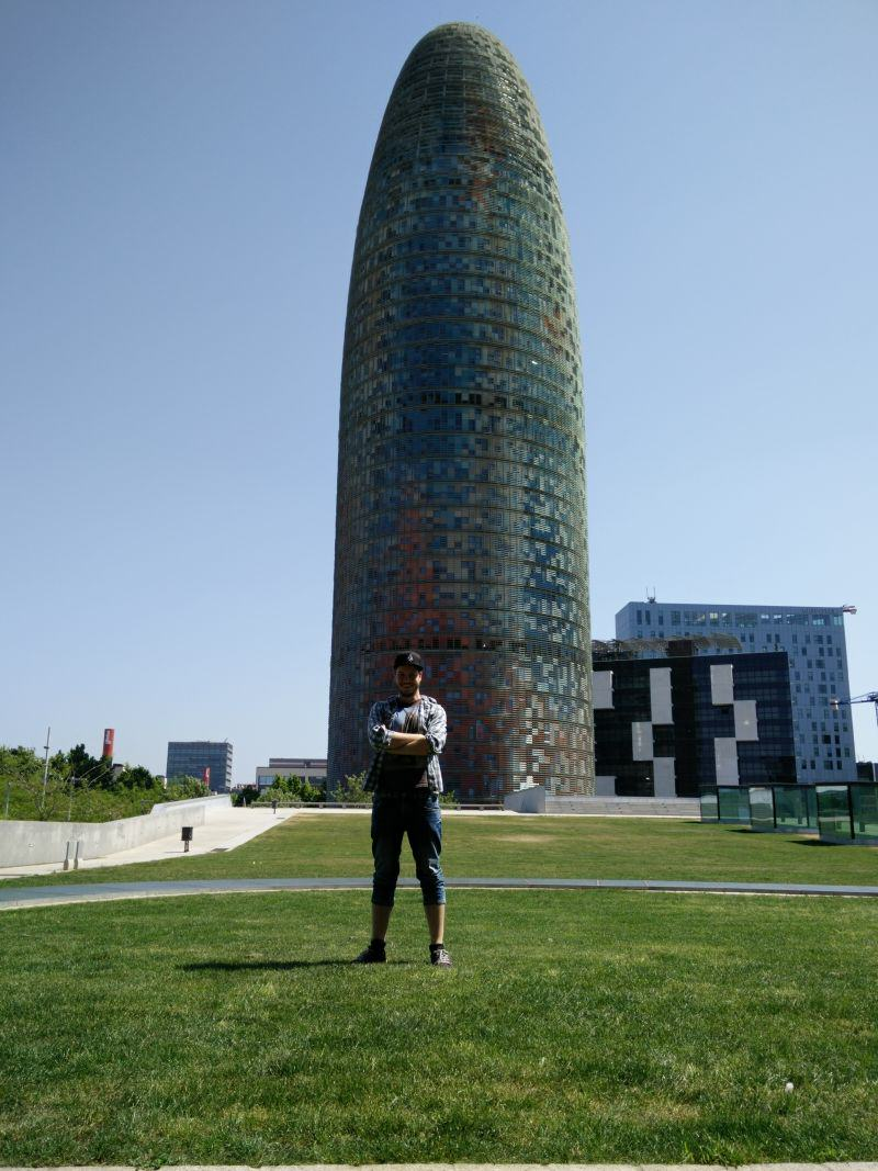 Torre Agbar Bürogebäude