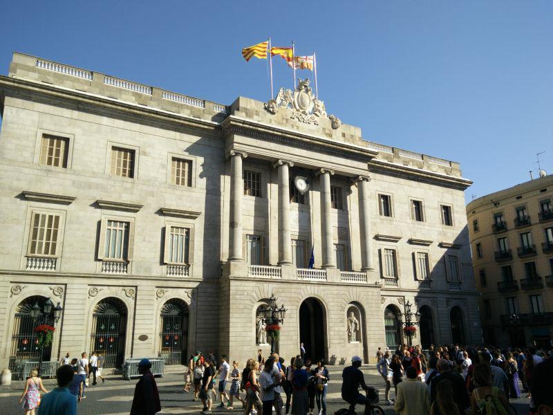 Rathaus: Ajuntament de Barcelona